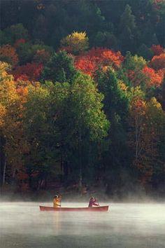 Autumn in Michigan's upper peninsula
