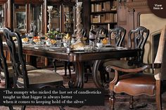 Grand Continental collection by Stanley Furniture