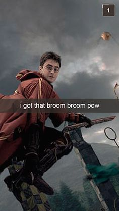 28 Snapchats From Harry Potter LOL