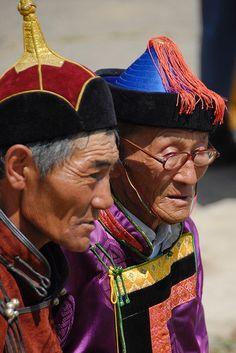Elderly Nomads from Mongolia