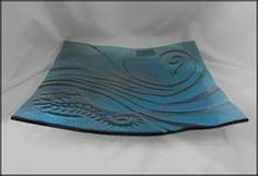 fused glass kiln carving