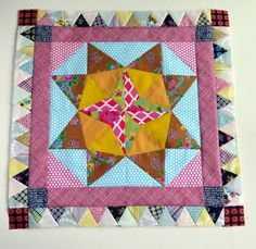 Marcelle Medallion Quilt Border 3... I need Your Opinion!