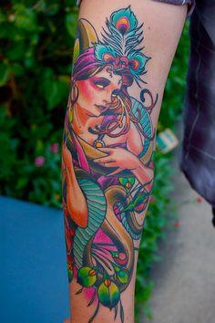 Serpent Maiden done by Adam Barton