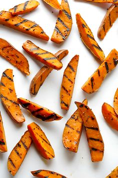 Grilled Sweet Potato Fries   gimmesomeoven.com