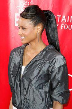Celebrity ponytail tutorials