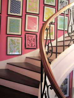 Lilly Pulitzer Madison Avenue Store Staircase