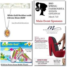 2013 Spring Fashionista Events Giveaway! Enter to win this $639 All-Fashion Prize Package! Ends March 13th!