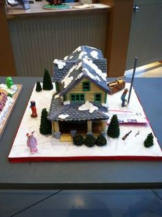 A Christmas Story Gingerbread House,