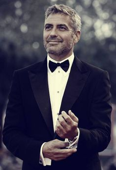 George Clooney never too old and hot!