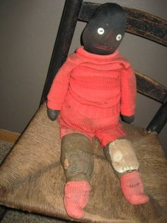 EARLY-COTTON-STUFFED-BLACK-DOLL