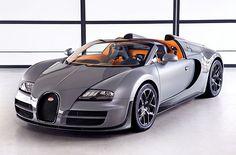 Bugatti  Veyron Grandsport Visette Jet Gray