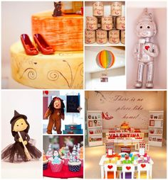 Wizard of Oz party with tons of cute ideas! Tutorials, tips, supplies, etc! On Kara's Party Ideas | KarasPartyIdeas.com #WizardOfOzParty #Oz #PartyIdeas