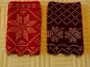 beaded knitting - Perlenstrickerei on Pinterest Knitting, Beads and Cuffs