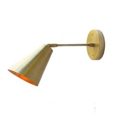 Tilt Cone  159.00. wall lamp / sconce. picture light.