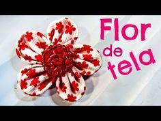 Como hacer paso a paso flores de tela para el cabello o broches.  Facebook: https://www.facebook.com/gustamonton  Twiteer: https://twitter.com/#!/gustamonton  Página: http://www.gustamonton.com