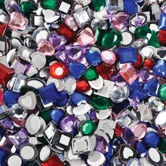 Self Adhesive Jewels (500 Pieces) at theBIGzoo.com, a family-owned store. Check our sales & FREE Shipping.