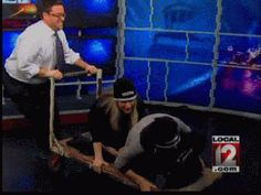 Newsroom Olympics: 3 Person Bobsled