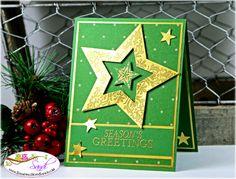 Stampin Up Bright and Beautiful card by Sandi @ www.stampingwithsandi.com