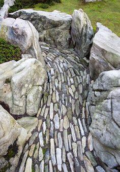 A faux river runs through this garden designed by marc kean - tiger glen   gardenista