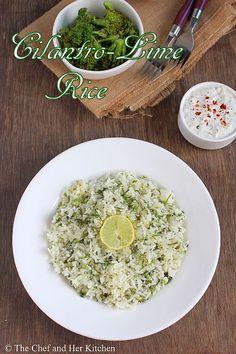 Cilantro Lime Rice Recipe | Easy Mexican Recipes
