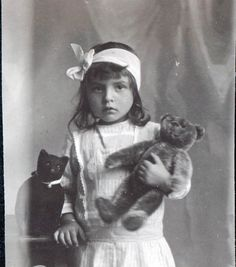 Edwardian Child with Toys