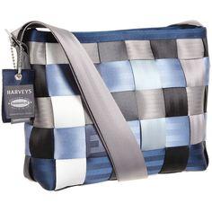 Harveys Seatbelt Bag Convertible Tote found on Polyvore