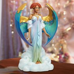 "A high quality resin figurine from our website by the renown Thomas Blackshear. This piece is entitled ""Angel of Mercy""."
