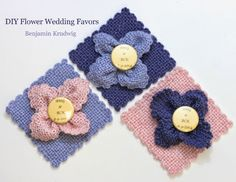 Schacht Spindle Blog: Zoom Loom Wedding Favors