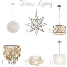 5. Lovely lighting (I love the first two, especially the second one) #organizedliving #organizedcloset