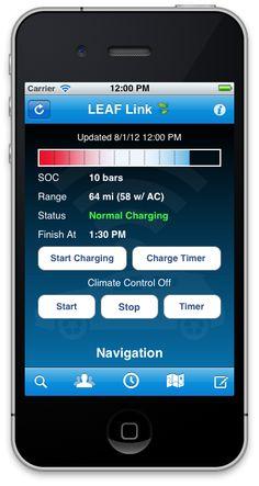 LeafLink App Lets You Control Your Nissan Leaf Remotely