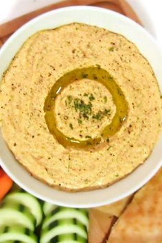 This easy hummus recipe will change the way you snack!