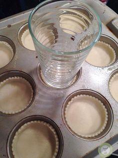 Muffin Pan Mini Apple Pies.
