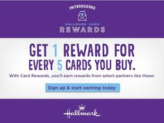 Hallmark Card Rewards, Free Gifts & $500 Giveaway - Balancing Beauty and Bedlam