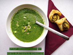 Spinat-Brokkoli-Suppe