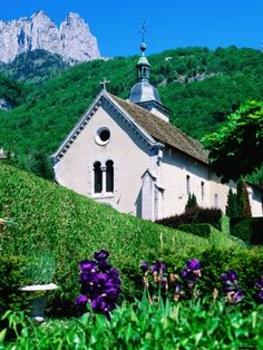 Church in the French Alps