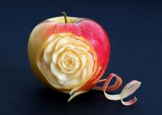 rose apple sculpture