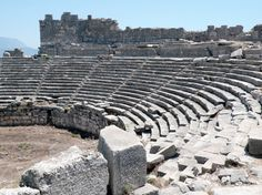 recommended World Heritage sites in Palistine  - The amphitheatre at Xanthos, a UNESCO World Heritage site since 1988