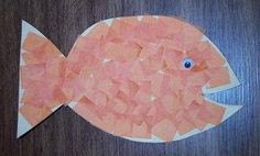 Fish craft for Pets theme