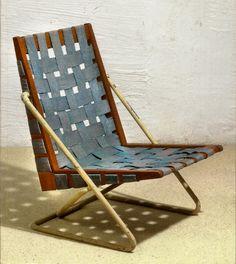 Wakter E. Gindele; Lounge Chair, 1960.