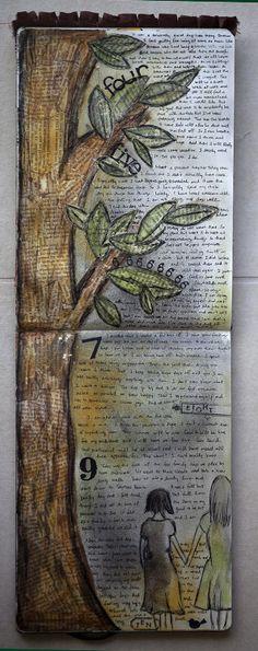 karenika art journal page