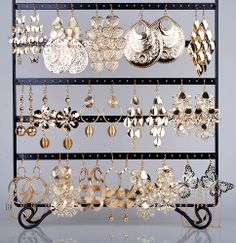Wholesale Lots 24 pairs Gold Hook Mixed Styles Women's Dangle Earrings Eardrop