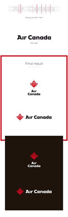 Air Canada by Cris Labno, via Behance