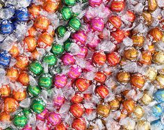 gift bags, balls, chocolates, lindt chocol, dreams, candies, lindor truffles, small gifts, color color