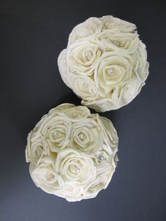 Sola flower ball decorations  Set of two by SuperiorCraftSupply