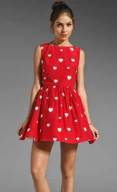 Rachel Antonoff Zooey Heart Dress