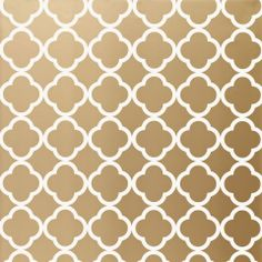 WALLPAPER:: PATTERNS, COLORS || Morocco Gold Wallpaper. #laylagrayce #wallpaper #gold @Layla Grayce
