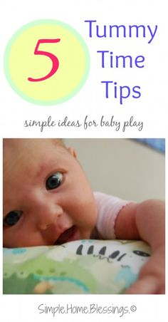 Baby Betterment: Tummy Time - Simple. Home. Blessings