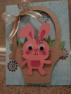 Easter Card made with Create a Critter 2