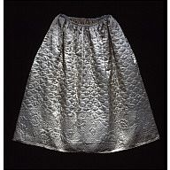 Williamsburg quilted petticoat Acc. No. 1974-658