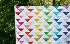 Cutting Edge Quilt by Fresh Lemons : Faith, via Flickr